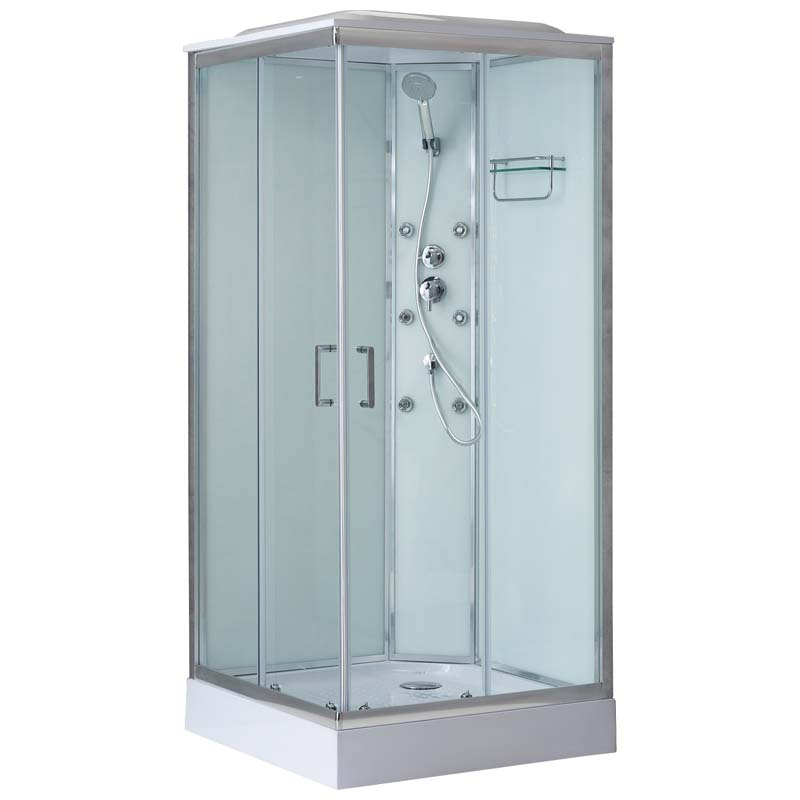 Душевая кабина BelBagno Uno-CAB-A-2-90-P-Cr-TOP
