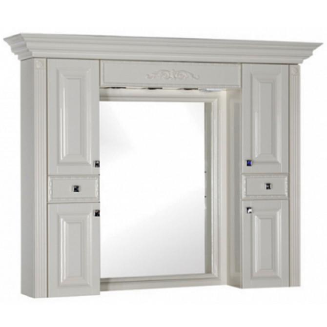 Зеркало-шкаф Aquanet Кастильо 140см 183176 фото