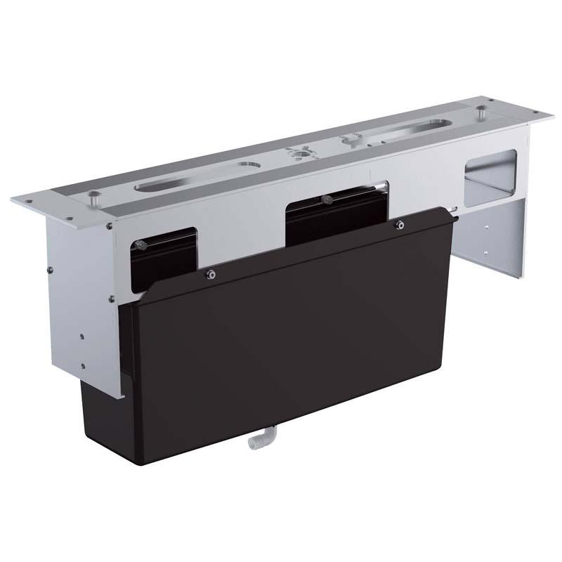 Монтажный ящик для установки смесителей на бортик