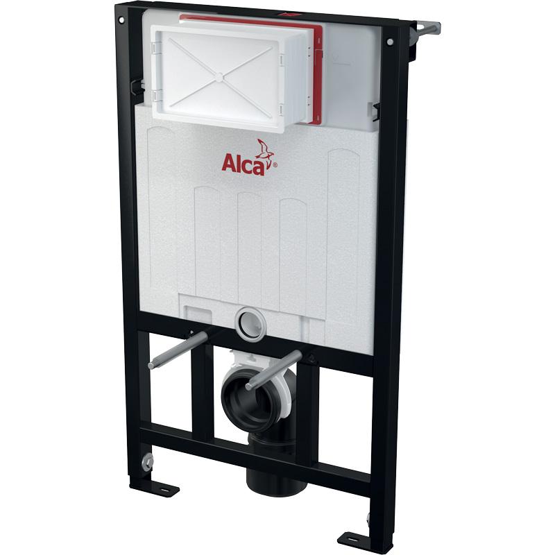 Скрытая система инсталляции для сухой установки AlcaPlast