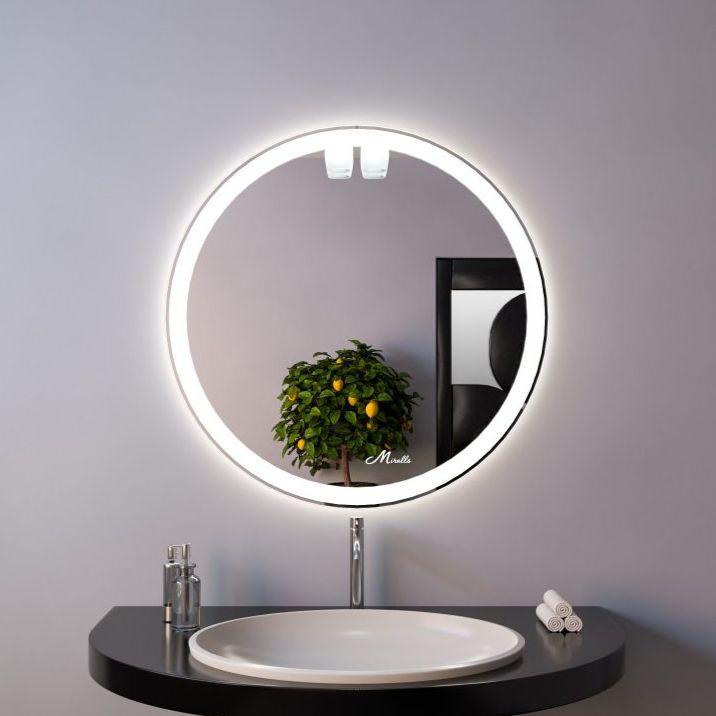 Зеркало с подсветкой Mirrals Ring 800х800 фото