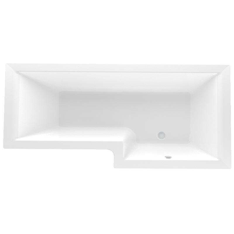 Акриловая ванна Marka One Linea 168x85 R 4604613330880 фото