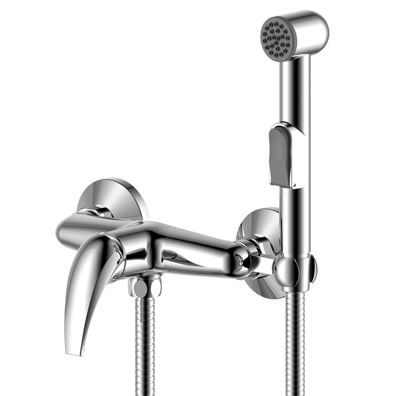 Смеситель с гигиеническим душем Rossinka Серия Y Y25-52 фото