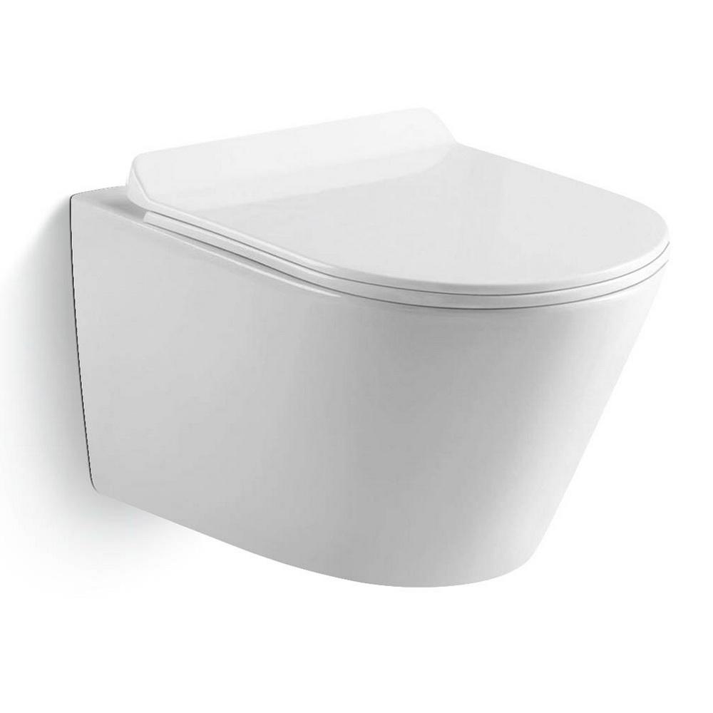 Унитаз керамический Black&White W-703