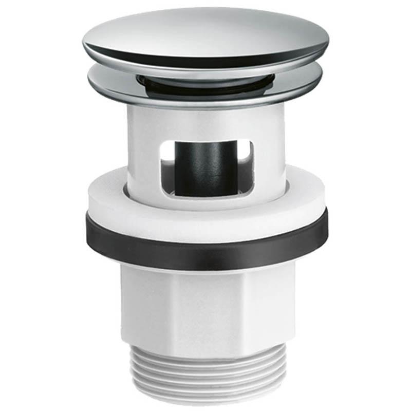 Донный клапан для раковины Hansgrohe 50105000 Push-Open фото