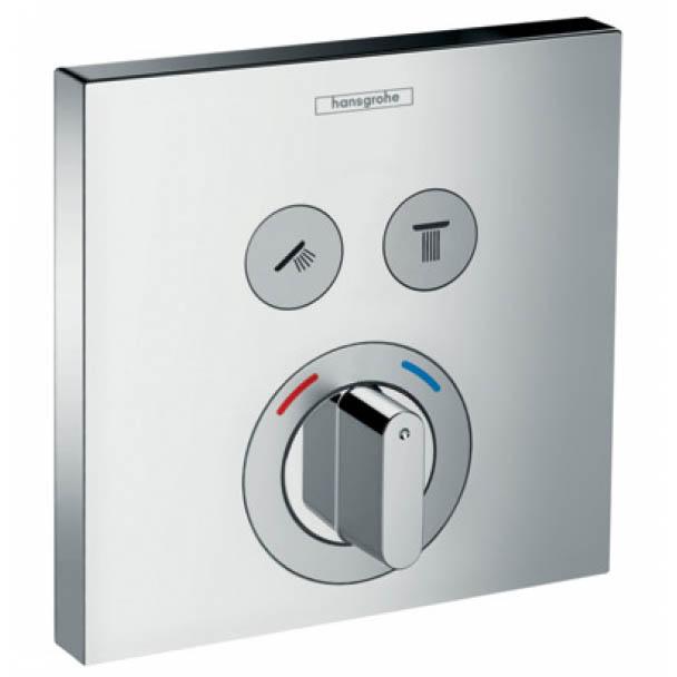 Смеситель для душа Hansgrohe ShowerSelect 15768000 с термостатом фото